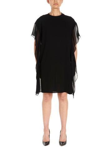 Max Mara Studio Gessy Poncho Sleeved Dress