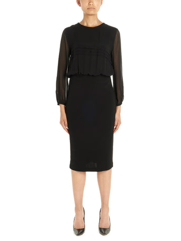 Max Mara Studio Fitted Formal Dress