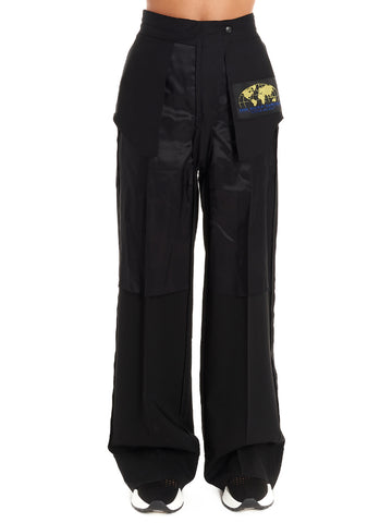 Mm6 Maison Margiela Logo Patch Trousers