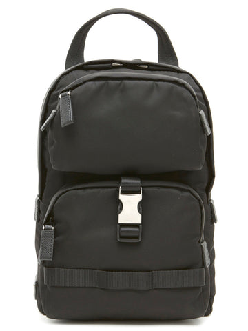 Prada Logo One Shoulder Backpack