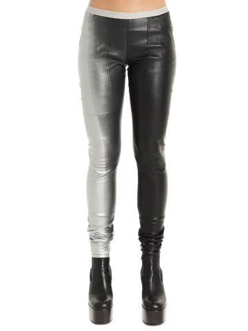 Rick Owens Two-Tone Leggings