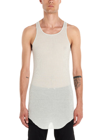 Rick Owens Ribbed Tank Top