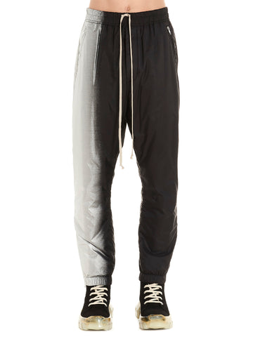 Rick Owens Two-Tone Drawstring Track Pants