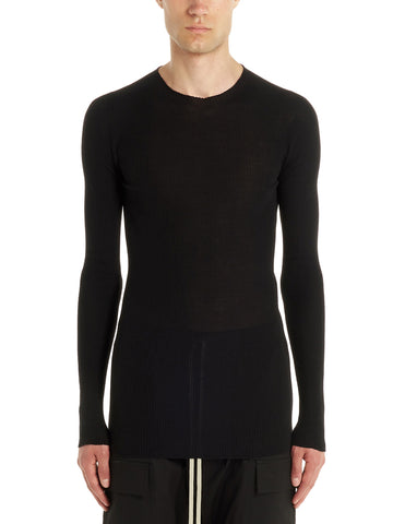 Rick Owens Ribbed Crewneck Sweater