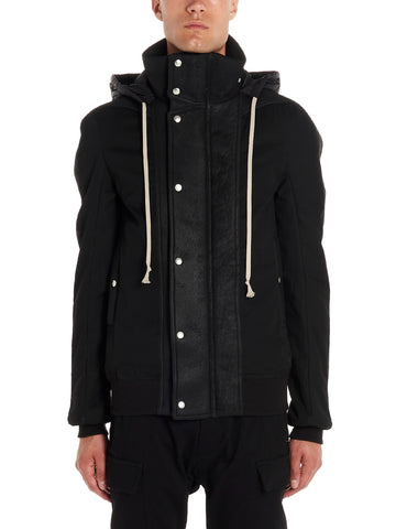 Rick Owens Hooded Zip-Up Jacket