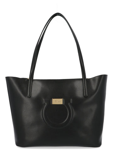 Salvatore Ferragamo Gancio City Tote Bag
