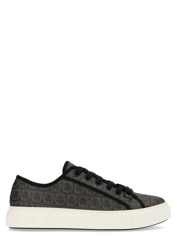 Salvatore Ferragamo Anson Logo Lace Up Sneakers