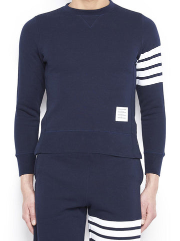 Thom Browne 4-Bar Stripe Sleeve Sweater