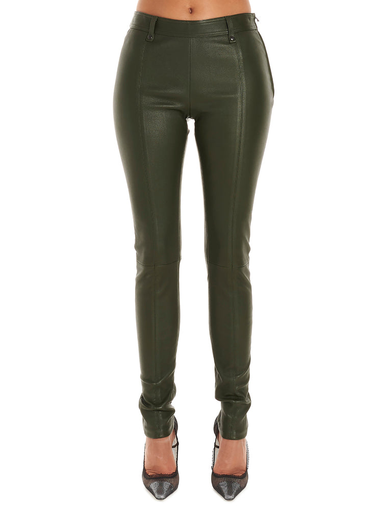 Tom Ford Pants TOM FORD CLASSIC LEATHER SKINNY FIT TROUSERS