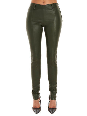 Tom Ford Classic Leather Skinny Fit Trousers