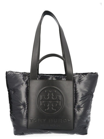 Tory Burch Perry Bombé Logo Tote Bag