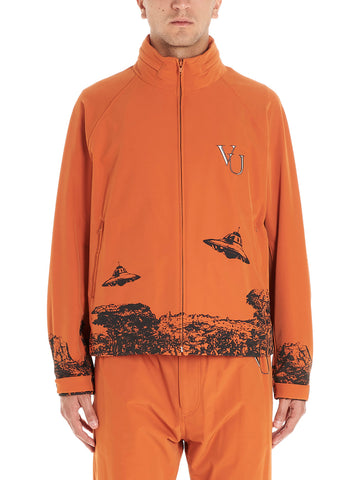Valentino X Undercover Graphic Printed Windbreaker