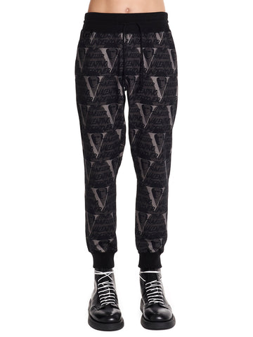 Valentino X Undercovered Graphic Printed Sweatpants