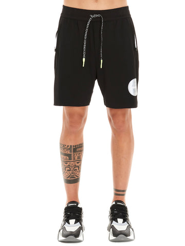 Versace Logo Patch Track Short