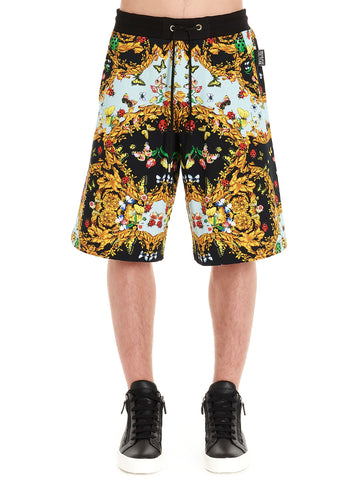 Versace Jeans Couture Baroque Print Bermuda Shorts