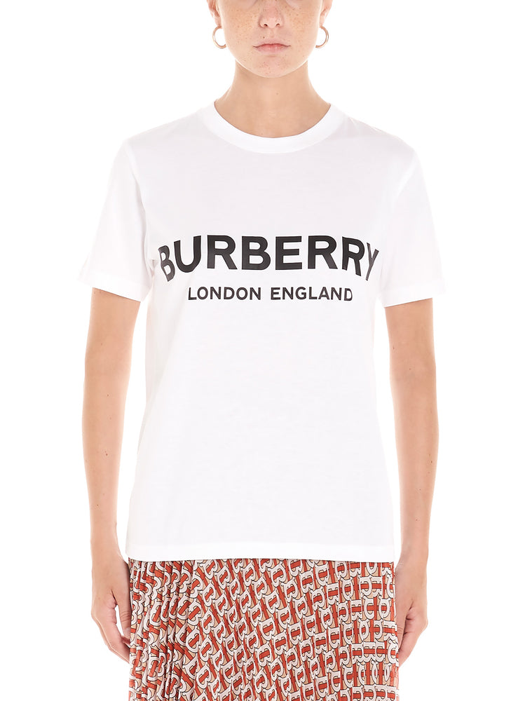 Burberry Tops BURBERRY LOGO PRINT T