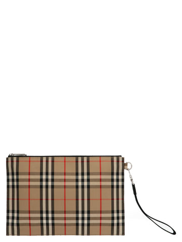 Burberry Vintage Check Clutch Bag