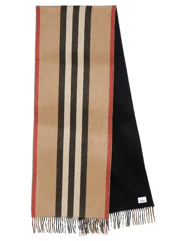 Burberry Reversible Icon Stripe Scarf