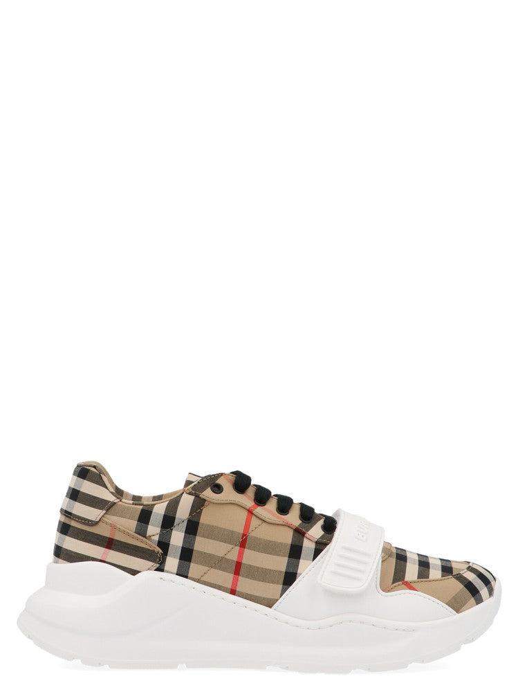 Burberry Canvases BURBERRY VINTAGE CHECK STRAP SNEAKERS