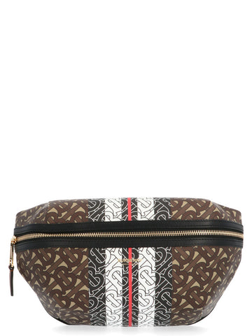 Burberry Monogram Stripe Detail Belt Bag