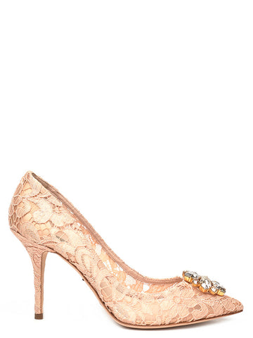 Dolce & Gabbana Bellucci Embellished Pumps