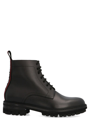 Dsquared2 Evolution Tape Lace Up Ankle Boots