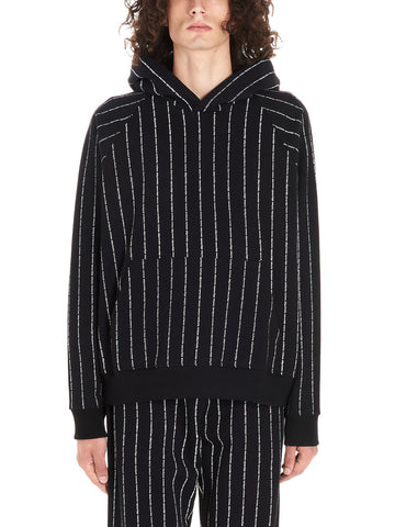 Enfants Riches Déprimés Logo Striped Hoodie