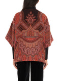 Etro Patterned Open Front Jacket