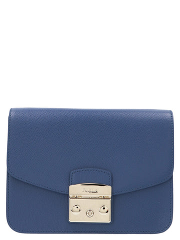 Furla Metropolis Logo Panel Crossbody Bag
