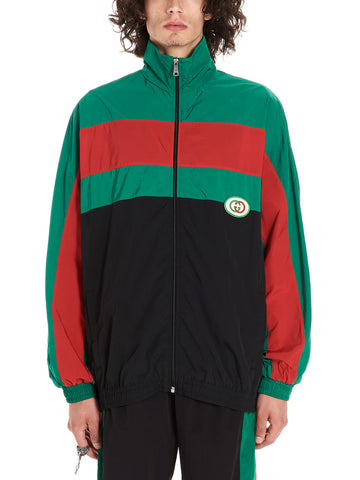 Gucci Contrasting Panelled Windbreaker