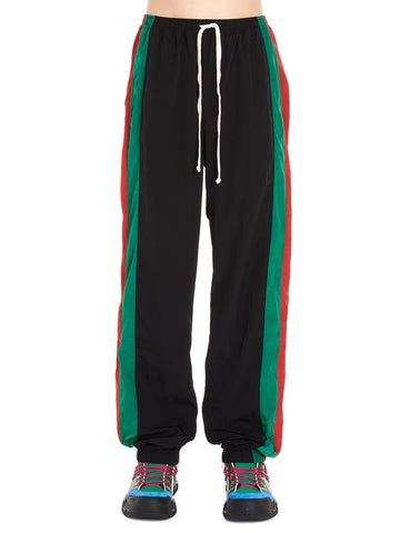 Gucci Contrasting Panelled Jogging Pants