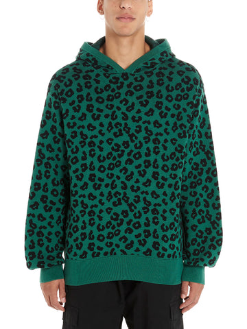 Just Don Leopard Hoodie
