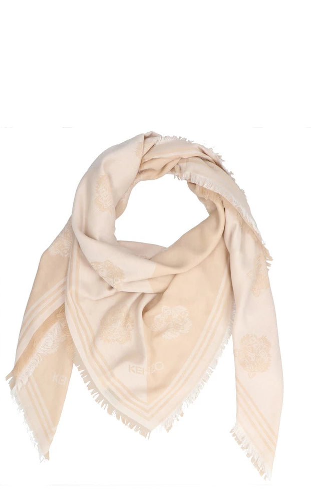 4a5a9aa083 Kenzo Tiger Two-Tone Scarf