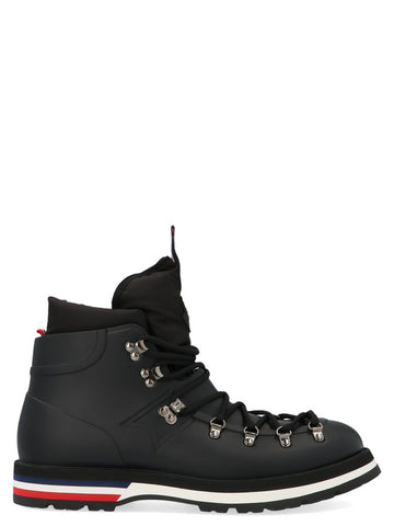 Moncler Henoc Logo Lace-Up Ankle Boots