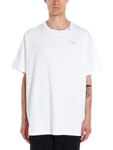 Off-White Unfinshed Short Sleeve T-Shirt