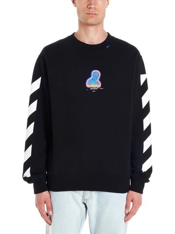 Off-White Graphic Print Sweatshirt