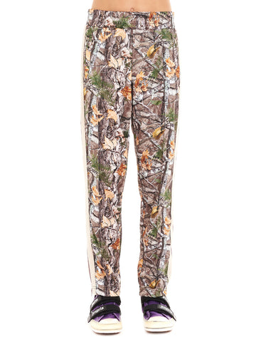 Palm Angels Camouflage Print Logo Sweatpants