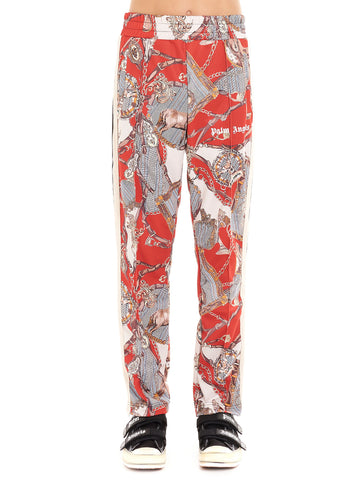 Palm Angels Hot Bridle Print Track Trousers