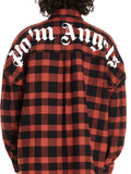 Palm Angels Checked Logo Shirt