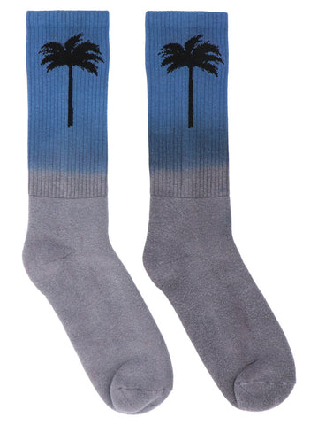 Palm Angels Palm Tree Print Socks