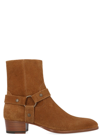 Saint Laurent Harness Ankle Boots