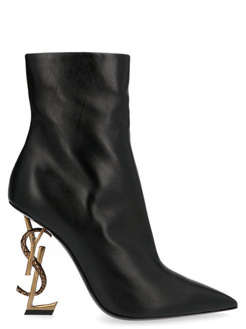 Saint Laurent Opyum 110 Pointed Toe Ankle Boots