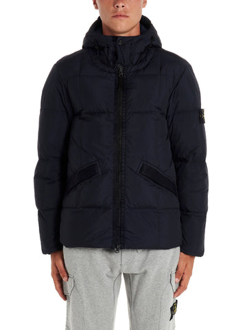 Stone Island Shadow Project Crinkle Reps Padded Hooded Jacket