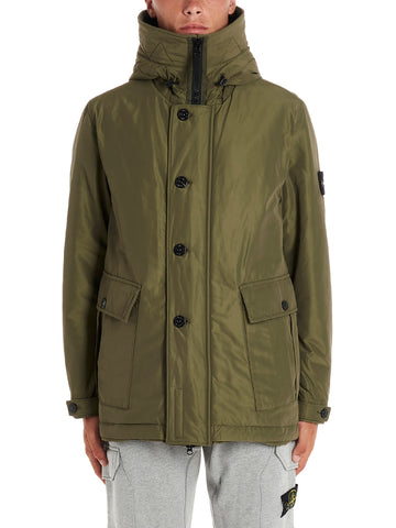 Stone Island Shadow Project Micro Reps Primaloft Logo Hooded Jacket