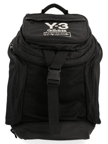 Y-3 Logo Printed Travel Backpack