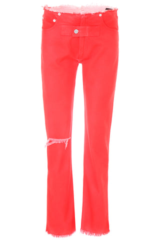 Alyx Distressed Straight Legged Trousers