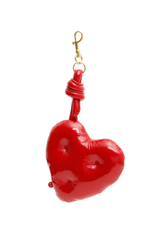 Anya Hindmarch Chubby Heart Key Ring