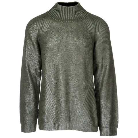 Versace Jeans Ribbed Collar Pullover