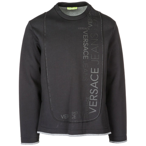 Versace Jeans Logo Printed Pullover