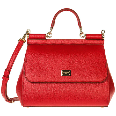 Dolce & Gabbana Medium Sicily Tote Bag